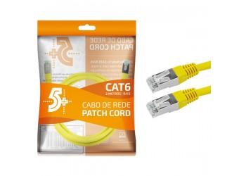 Cabo De Rede 2 Metros Blindado Ethernet Rj45 Cat6