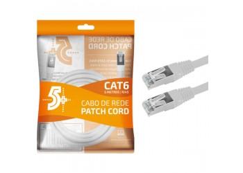 Cabo De Rede 5 Metros Blindado Ethernet Rj45 Cat6