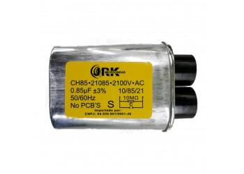 Capacitor Alta Tensão Microondas 0,85µf - 2100v