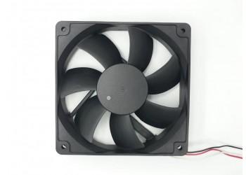 Cooler Micro Ventilador Ventoinha 12x12x2,5 24v Rolamentado