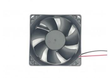 Cooler Micro Ventilador Ventoinha 8x8x2,5 Cm 24v Eixo Bucha