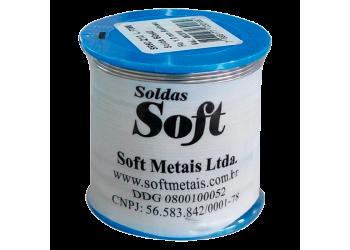Solda Estanho 500g 1mm - Soft