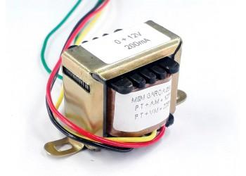 Transformador 12v 200 Mah ( Trafo ) Bivolt - Tr-200-006
