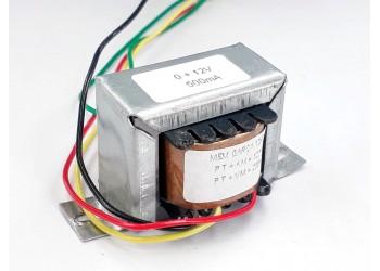 Transformador 12v 500 Mah ( Trafo ) Bivolt - Tr-500-006