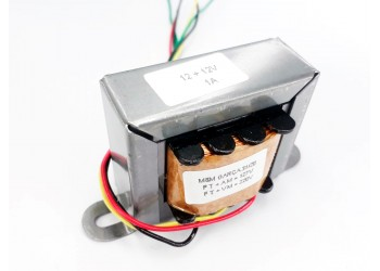 Transformador 12+12v 1a ( Trafo ) Bivolt - Tr-01-011