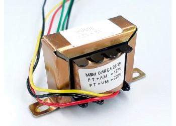 Transformador 12+12v 300 Mah ( Trafo ) Bivolt - Tr-300-012