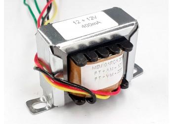Transformador 12+12v 400 Mah ( Trafo ) Bivolt - Tr-400-011