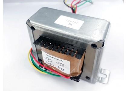 Transformador 12+12v 5a ( Trafo ) Bivolt - Tr-05-005