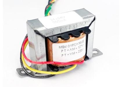 Transformador 24+24v 300 Mah ( Trafo ) Bivolt - Tr-300-014
