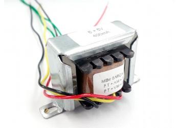 Transformador 6+6v 400 Mah ( Trafo ) Bivolt - Tr-400-009