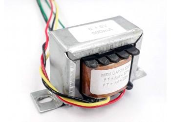 Transformador 6+6v 500 Mah ( Trafo ) Bivolt - Tr-500-011