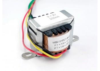 Transformador 9+9v 200 Mah ( Trafo ) Bivolt - Tr-200-011